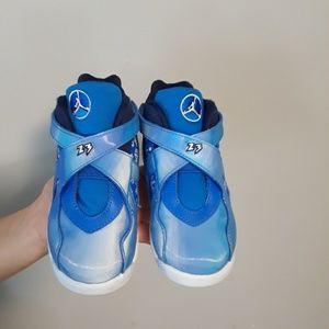 Nike Air Jordan 8 Snow Blizzard  Sz 11C